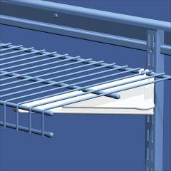 "ShelfTrack® 16"" Wire Shelving Bracket"
