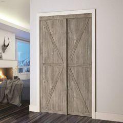 "48"" x 80-1/2"" Countryside/Barn Closet Door"