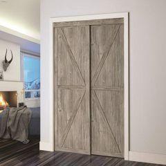 "60"" x 80-1/2"" Countryside/Barn Closet Door"