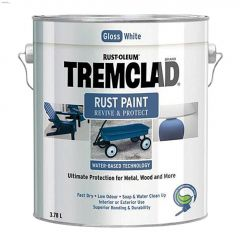 Tremclad® 3.78 L Can Gloss Water-Based Rust Paint