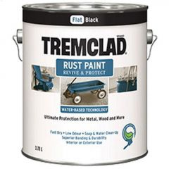 Tremclad® 3.78 L Can Flat Water-Based Rust Paint
