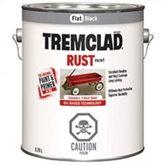 Tremclad® 3.78 L Can Flat Oil-Based Rust Paint