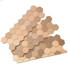 Honeycomb Matted Tile