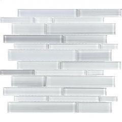 Bliss Fusion Random Strip Glass Mosaics