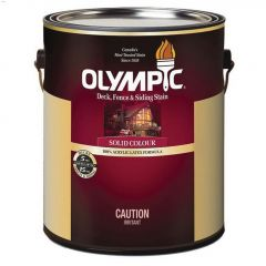 Olympic® 1 gal 2-In-1 Exterior Stain & Sealant