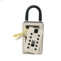 "4.44"" x 5-3/4"" 3-Key Keysafe Portable Pushbutton"