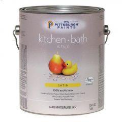 3.78 L Satin Kitchen/Bathroom Latex Paint