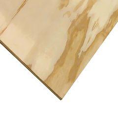 """1/2"""" x 4' x 4' Cut Good One Side Plywood"""