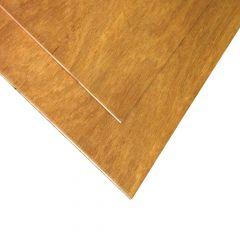 """1/4"""" x 4' x 4' Cut Meranti Plywood"""