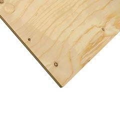 "3/8"" x 4' x 4' Cut Spruce Select Plywood"
