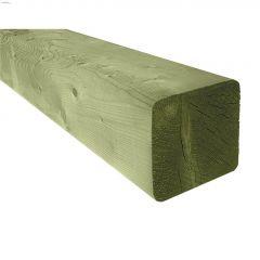 4 x 4 x 16' Green Pressure Treated Lumber