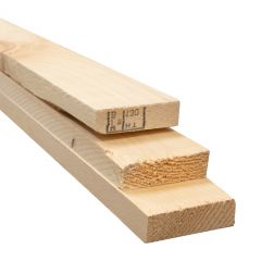 1 x 3 x 12' Knotty Pine Board