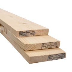 1 x 5 x 4' Knotty Pine Board