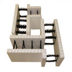 "6"" Small T-Block Insulated Concrete Form"
