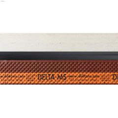 "6' 6"" x 3"" Polyethylene Black Mold Strip"