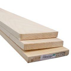 1 x 6 x 8' Clear Select Pine Board