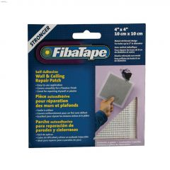 "FibaTape 4"" x 4"" Aluminum Metal Wall & Ceiling Repair Patch"