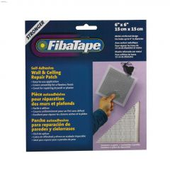 "FibaTape 6"" x 6"" Aluminum Metal Wall & Ceiling Repair Patch"