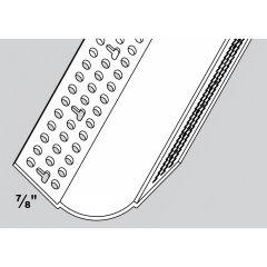 "3/4"" Radius 8' Bullnose Tape-On Inside Corner Bead"
