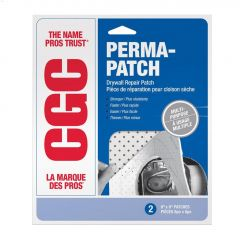 "Strait-Flex Perma-Patch 8"" x 8"" Drywall Patch"