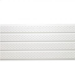 """16"""" Bright White Vented Soffit"""