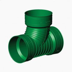 "4"" Corrugated Pipe Tee-wye"