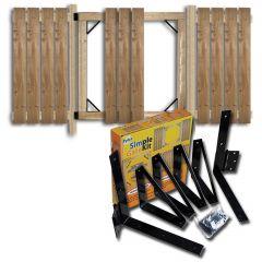 Black Steel Simple Gate Kit