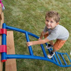 250 lb Blue/Red Flex-Arch Ladder