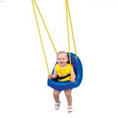 55 lb Green Toddler Child Seat Swing