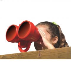 Red HDPE Binocular For Private Backyard Only