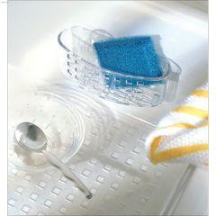 Plastic Clear Sinkworks Sponge & Scrub Centre