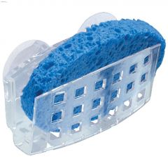 Clear Plastic Sinkworks Sponge Holder
