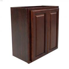 """24"""" x 30"""" Espresso Wall Cabinet"""