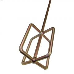 """24"""" x 4"""" Bronze/Copper Grout & Drywall Quick Mixer"""