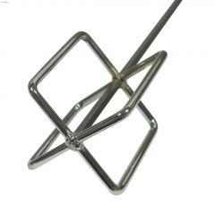 """30"""" Steel Nickel Plated Grout & Drywall Quick Mixer"""
