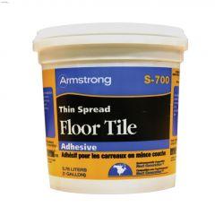 3.78 L Black Thin Spread Floor Tile Adhesive