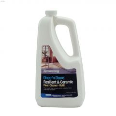 946 mL Clear Once 'n Done Resilient & Ceramic Floor Cleaner
