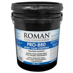 PRO-880 3.8 L Clear Strippable Wallcovering Adhesive