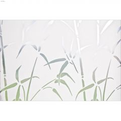 "35.43"" x 78.74"" Bamboo Static Privacy Door Film"
