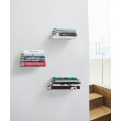 """Conceal 5"""" x 5"""" x 5-1/2"""" Floating Book Shelf"""