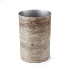 4.5 gal Barnwood Waste Can