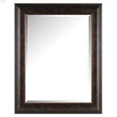 """Images 2000 24"""" x 1"""" x 30"""" Bevel Dark Brown/Bronze Mirror"""