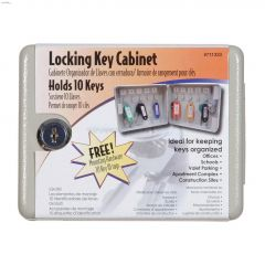 Powder Coat 10 Key Capacity Locking Key Cabinet