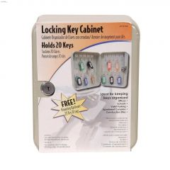 Powder Coat 20 Key Capacity Locking Key Cabinet