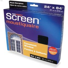 "24"" x 84"" Black Fiberglass Sash & Basement Window Screen"