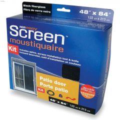 "EasyScreen 48"" x 84"" Black Fibreglass Screen Kit"