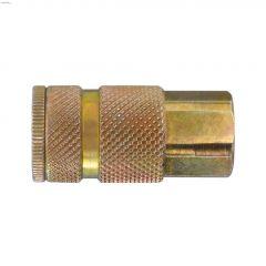 """Maxquik 1/4"""" FNPT Zinc Steel ARO 210 Manual Quick Coupler"""
