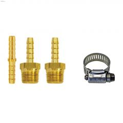 "1/4"" MNPT Brass 7-Piece Hose Repair Kit"