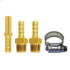 "3/8"" x 1/4"" MNPT Brass 7-Piece Hose Repair Kit"