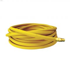 """EASYflex 1/4"""" MNPT x 25' Yellow PVC Air Hose With Fittings"""